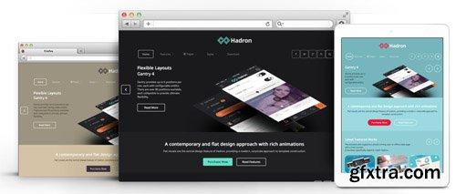 RocketTheme - Hadron v1.9 - Joomla Theme