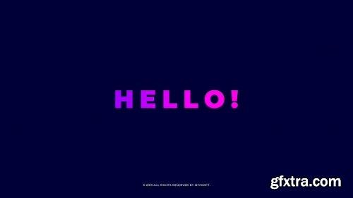 Videohive Typography Opener 23412699