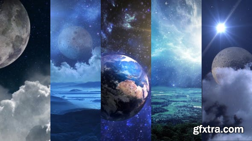 Videohive Space Panoramas and Planets Pack 3 22114530