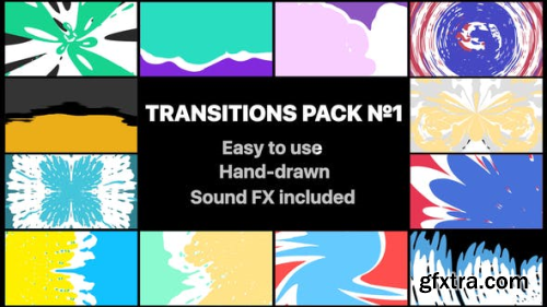 Videohive Liquid Transitions Pack 01 23263876
