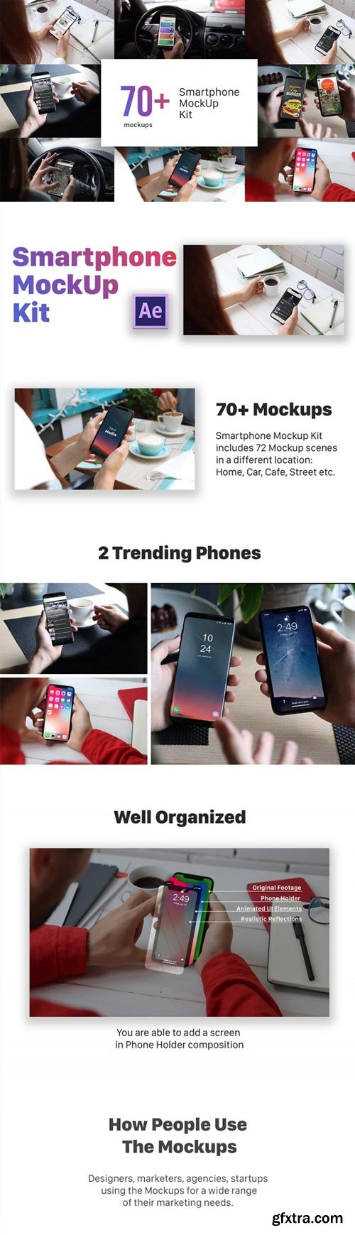 Videohive - Smartphone Mockup Kit - 22441947