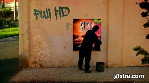 Videohive Wall Poster App 13782435