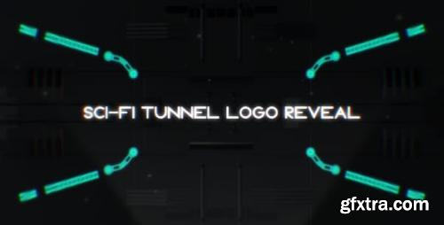 Videohive Sci-Fi Tunnel Logo Reveal 18241416