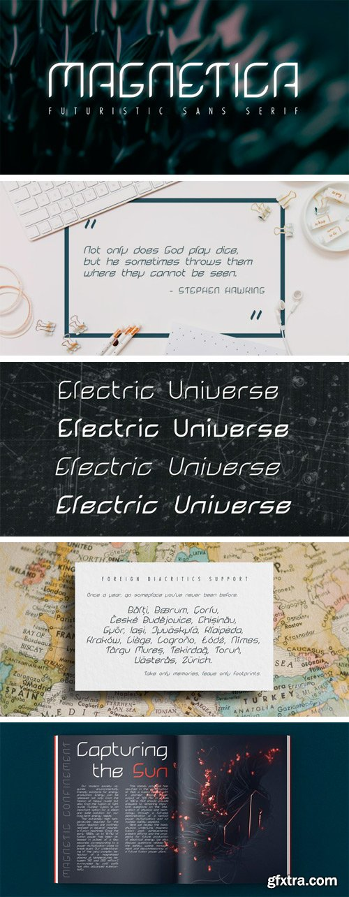 Magnetica Font Family