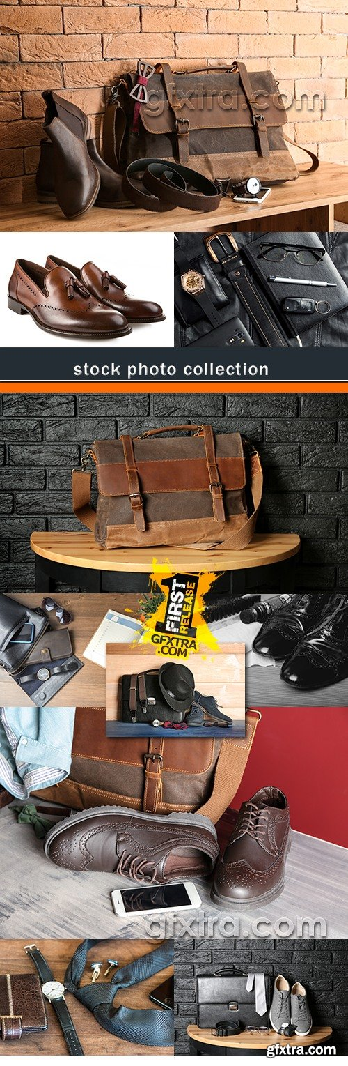 Shoes bag tie stylish men\'s accessories photo