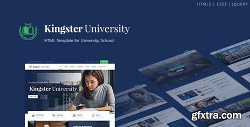 ThemeForest - Kingster v1.0 - Education HTML Template - 23276532