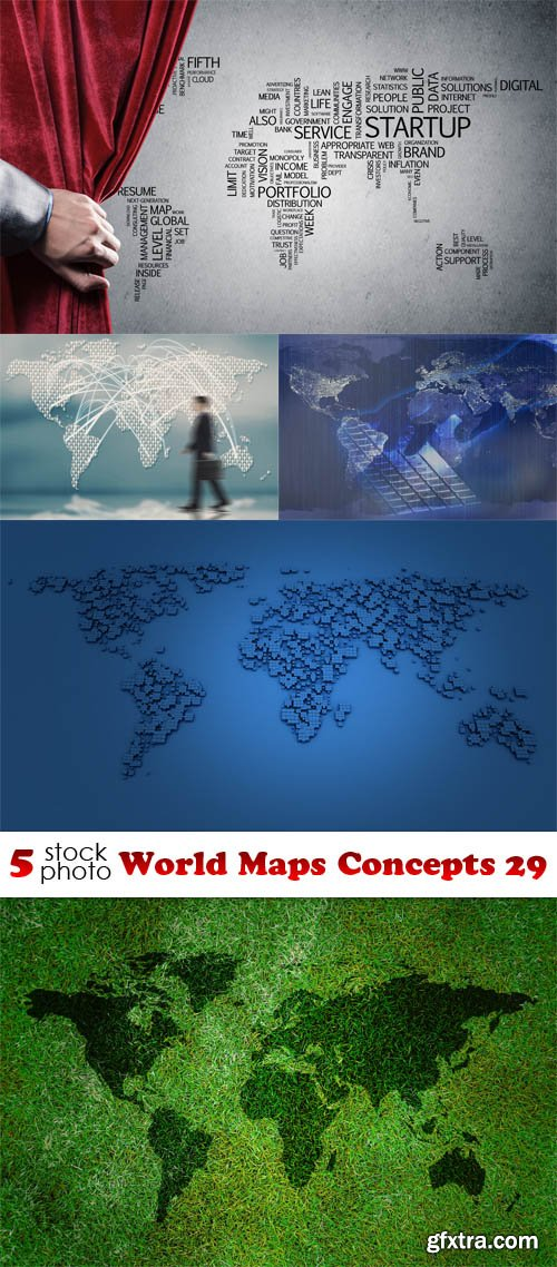 Photos - World Maps Concepts 29