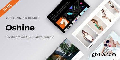 ThemeForest - Oshine - Creative Multi-Purpose HTML Template (Update: 29 December 17) - 11698505