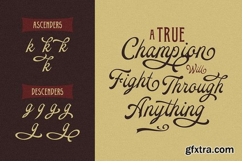 CM - Daily Bay Font Duo + Extras - 3567581