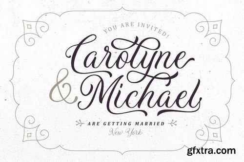 CM - Daytonia - Hand Lettering Script - 3319376