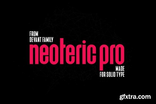 CM - Devant Neoteric Pro Modern Font 3573752