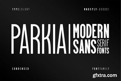 CM - Parkia - Condensed Typeface (SALE) 3555713