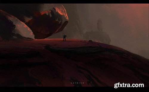 ArtStation - Graphic Composition II