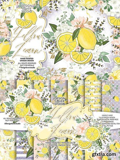 Yellow Lemon design