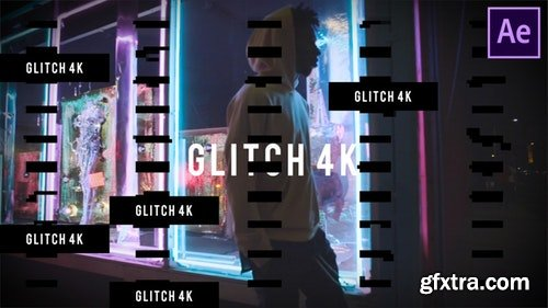 MotionArray Glitch Opener 4K 195584
