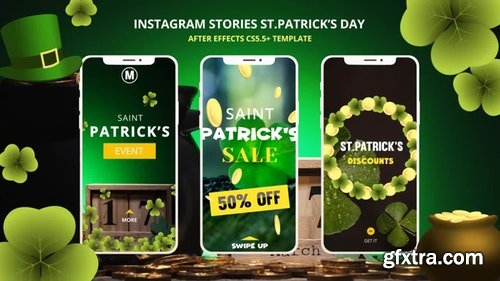 MotionArray Instagram Stories St.Patrick\'s Day 195726