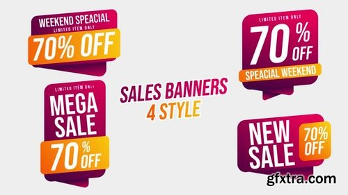 MotionArray Sales Banners 196038