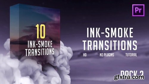 MotionArray Ink-Smoke Transitions (Pack 2) 196457