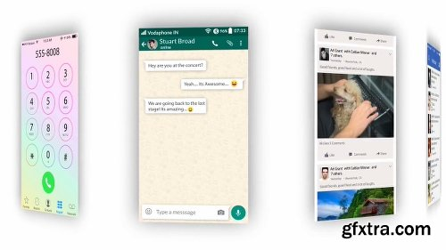 Videohive Text Messages | Text Message Kit 17745292