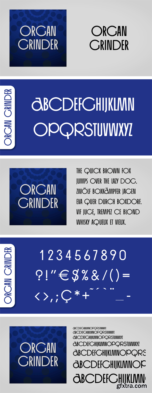 Organ Grinder Font