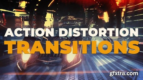 MotionArray Action Distortion Transitions 197026