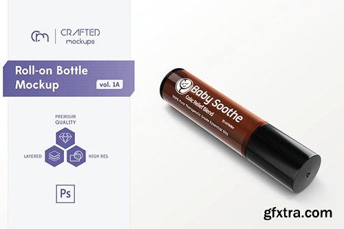 Roll-on Bottle Mockup v. 1A