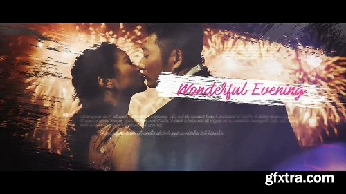 Videohive Wedding Brush Slideshow 20567599
