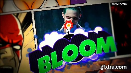 Videohive Comic Text FX 22459420