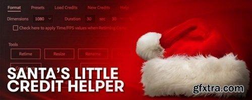 Santa\'s Little Credit Helper 1.0 for After Effects