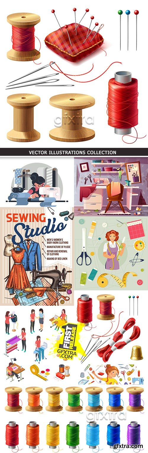 Sewing and needlework tools and tailor\'s equipment