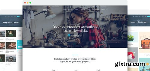 JoomShaper - Floox v1.6 - Multipurpose Joomla Template for Business, Corporate, and Agency Sites