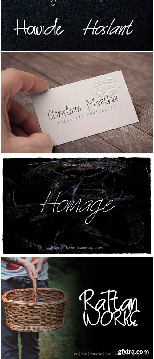 Homage Font Family