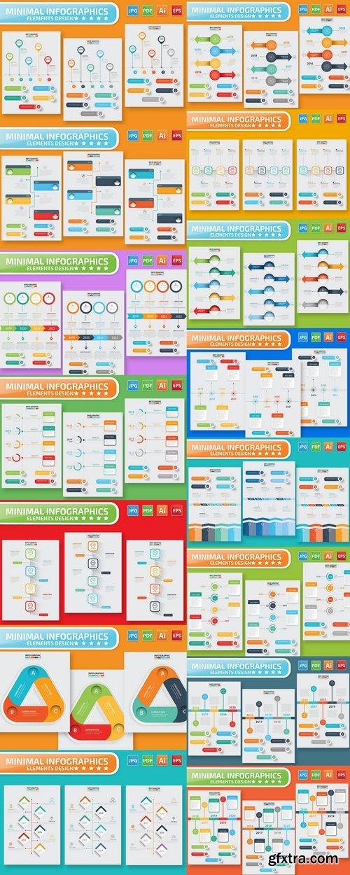 Timeline Infographic Design Pack