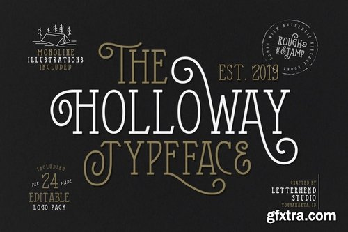 CM - The Holloway Typeface + EXTRAS 3545687