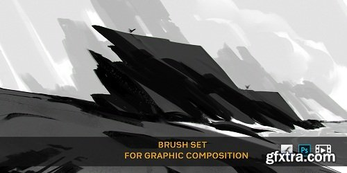 ArtStation Marketplace – Brush Set For Graphic Composition