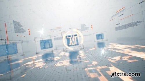 MotionArray 3D Tech Logo 196415