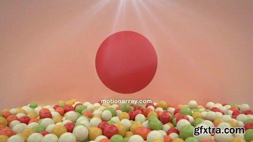 MotionArray Balls Logo Opener 196355