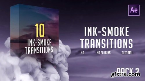 MotionArray Ink-Smoke Transitions (Pack 2) 196313