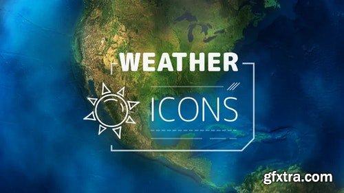 MotionArray Weather Forecast Icons 196743