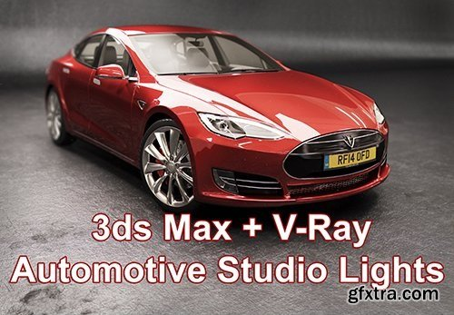 3ds Max + Vray : Automotive Studio Lights
