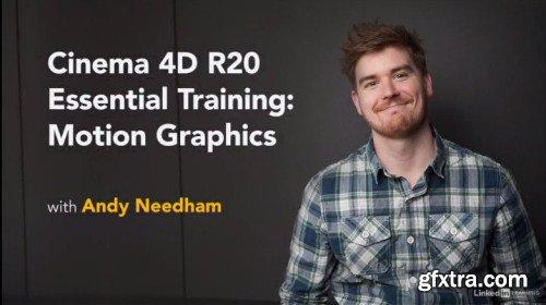 Cinema 4D R20 Essential Training: Motion Graphics