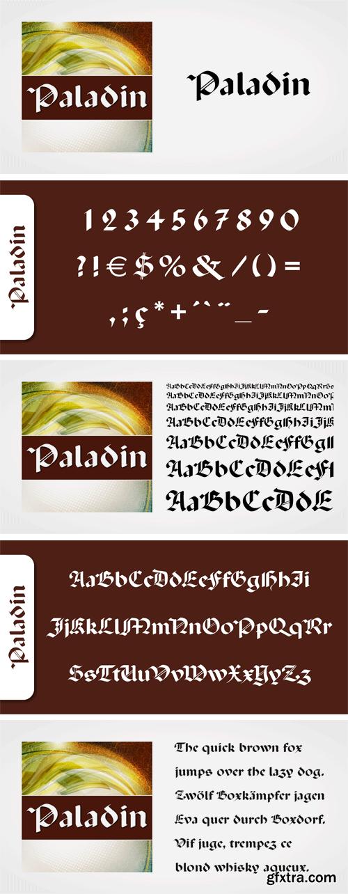 Paladin Font