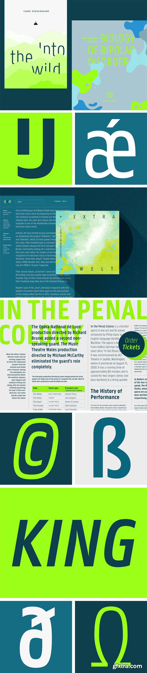Panno Text Font Family