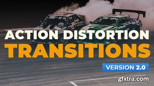 MotionArray Action Distortion Transitions V2.0 197648