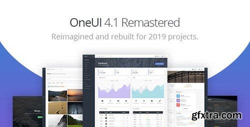 ThemeForest - OneUI v4.1 - Bootstrap 4 Admin Dashboard Template & Laravel Starter Kit - 11820082