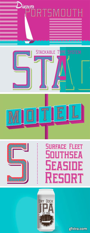 Portsmouth Font Family