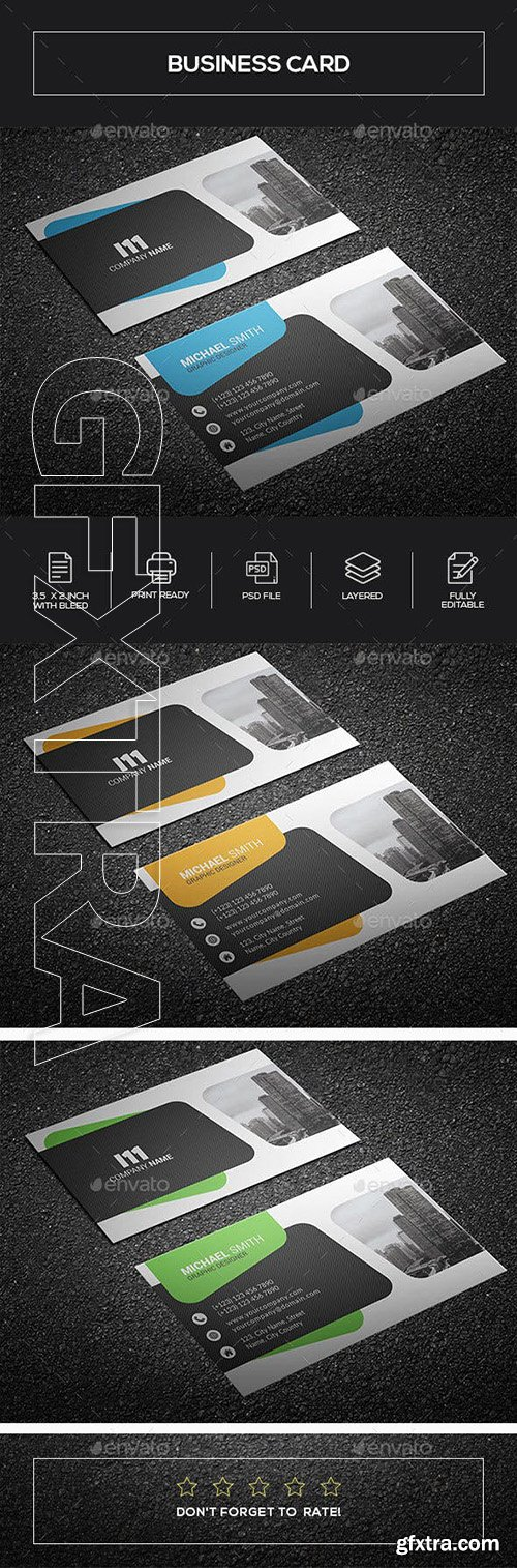 GraphicRiver - Business Card 23312797