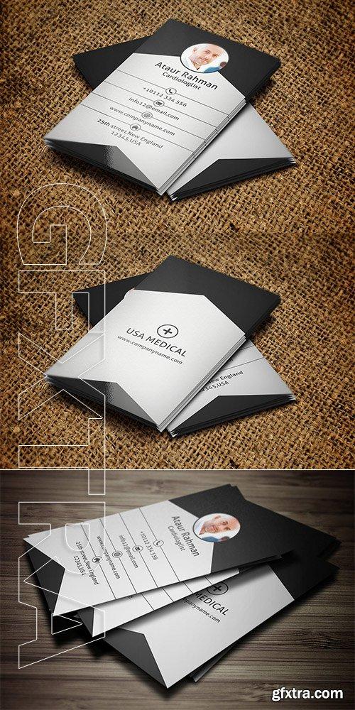 CreativeMarket - Doctor Business Card 3386406