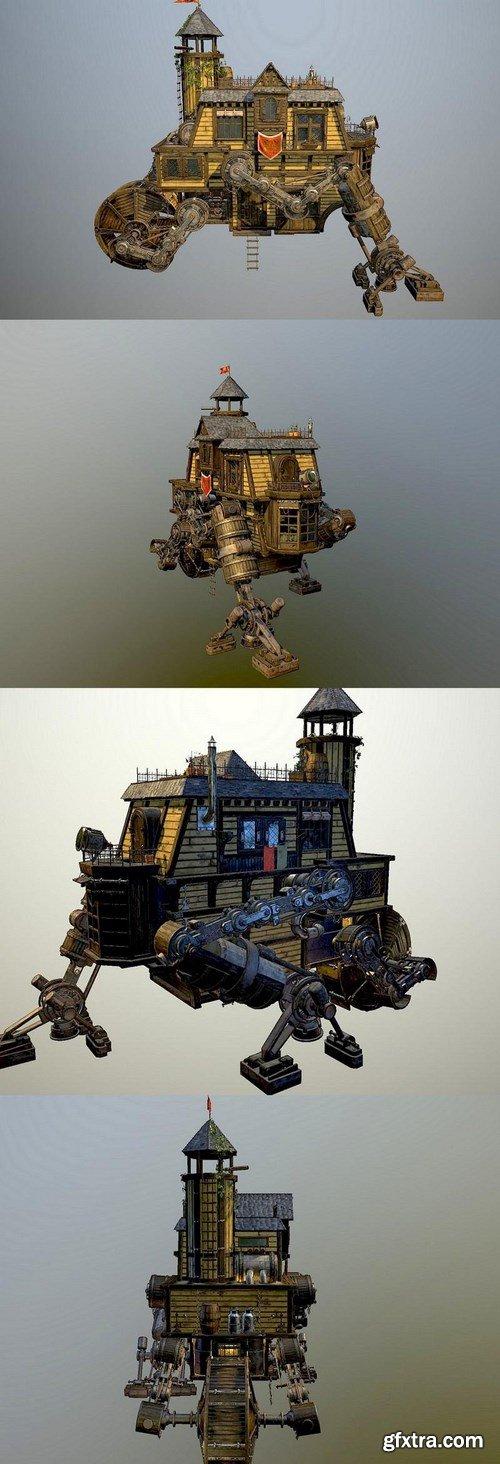 Wanderer House – Concept 3D Model