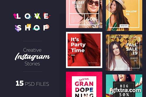 Instagram Shopping Banner